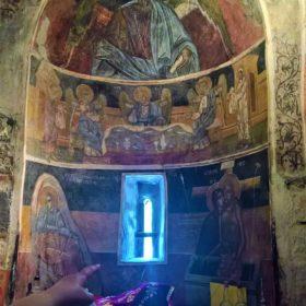 kids Greece monastery evia