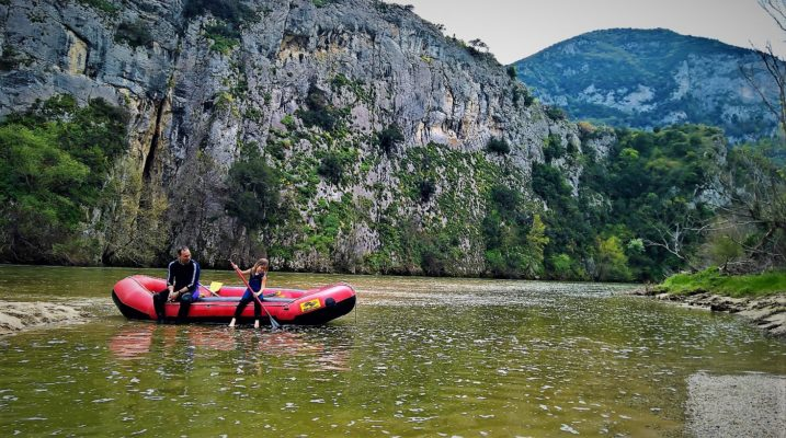 kids Greece eco rafting