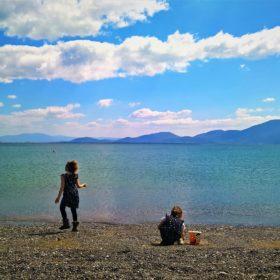 kids Greece beach evia