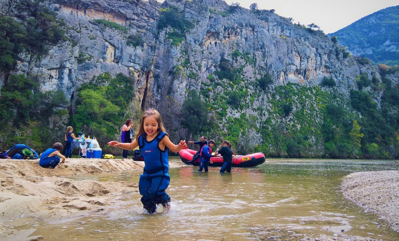 eco tours Greece kids