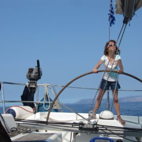 peloponnese kids Greece sailing