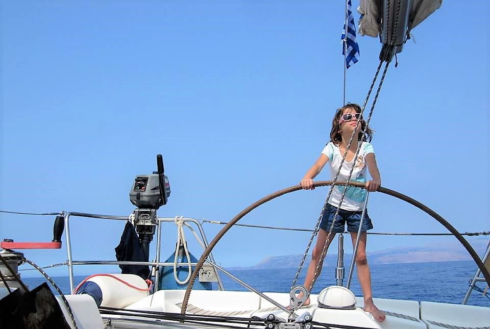 sailing Freece family