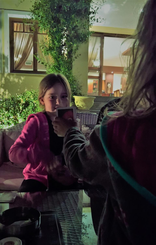 kids Greece kerkini lake hotel