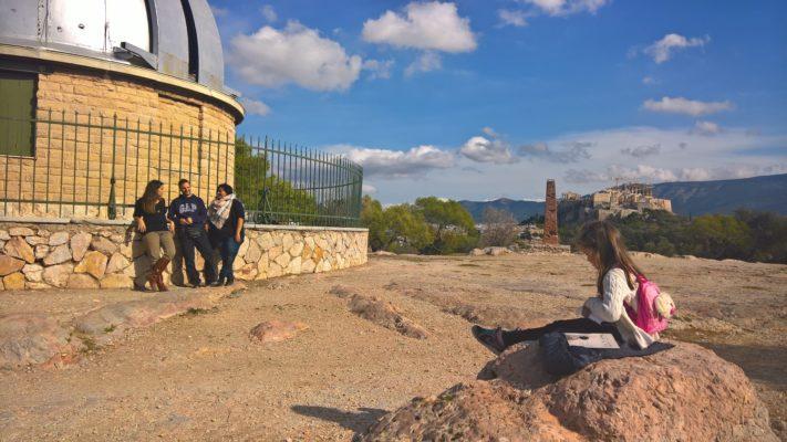 thisseio observatory athens kids