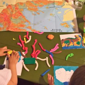 eco map children greece