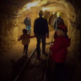Greece kids Parnassos mines museum