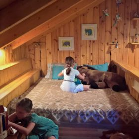 kids Greece farm hotel vasilikia