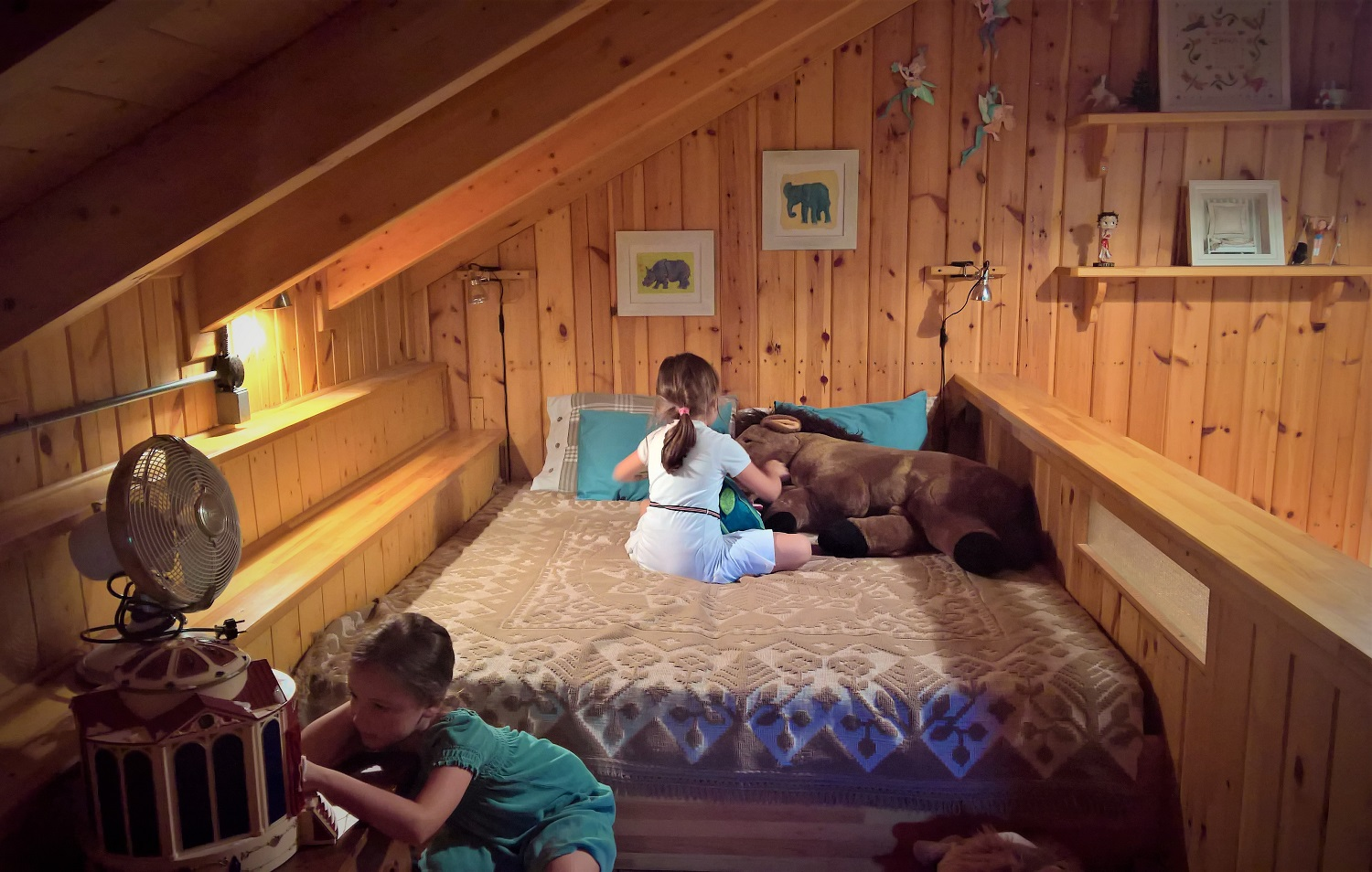 kids Greece farm hotel vasilikia