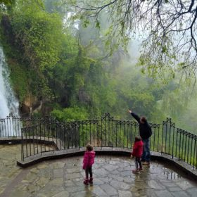 Greece kids family waterfalls edessa open museum