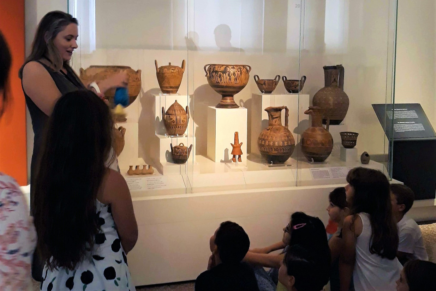 kids Greece archaeological museum Athens