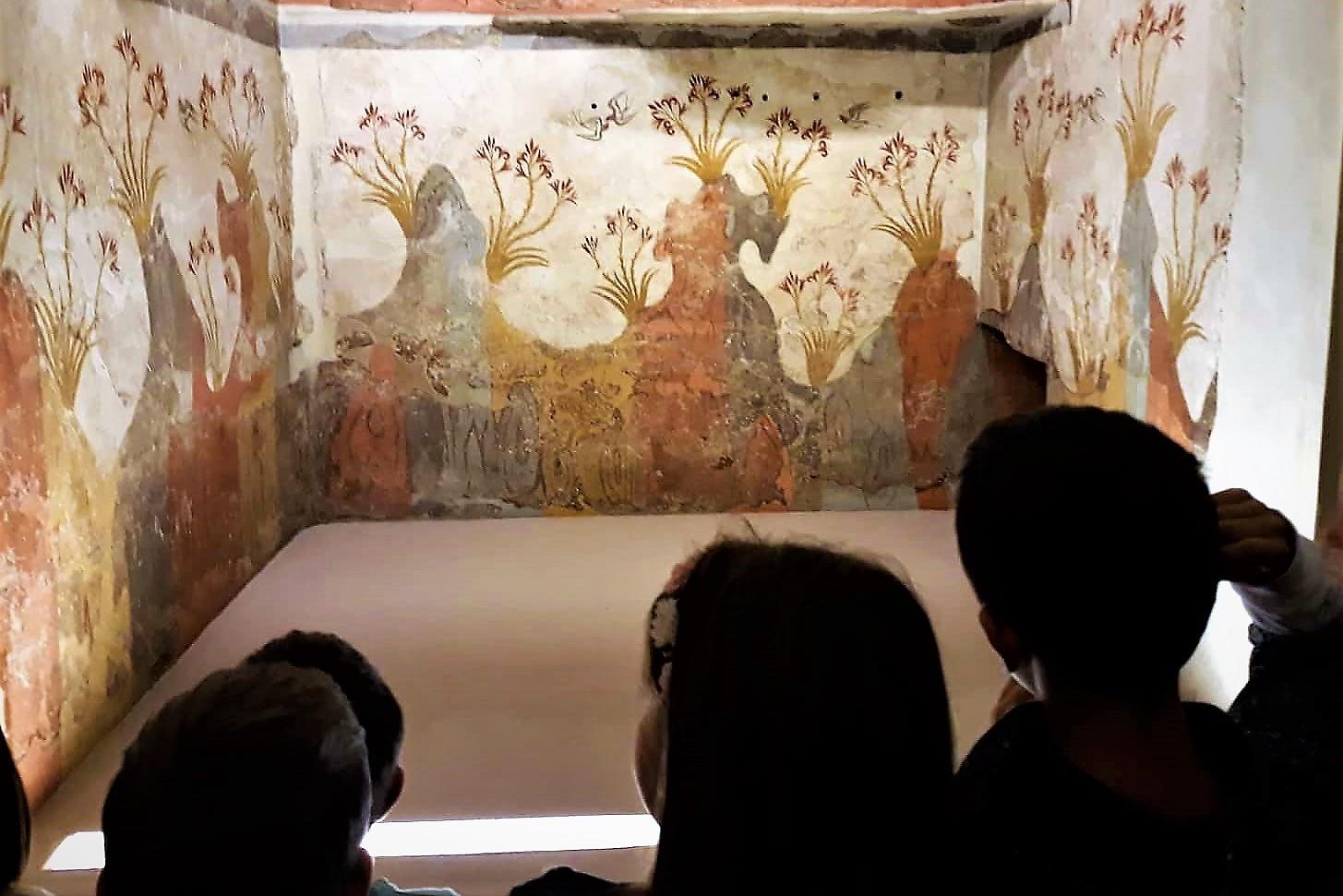 santorini museum kids athens
