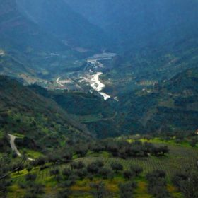 selinountas river achaia greece