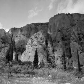 northern peloponnese rocks greece