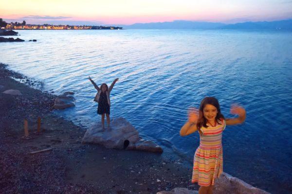sykia beach kids