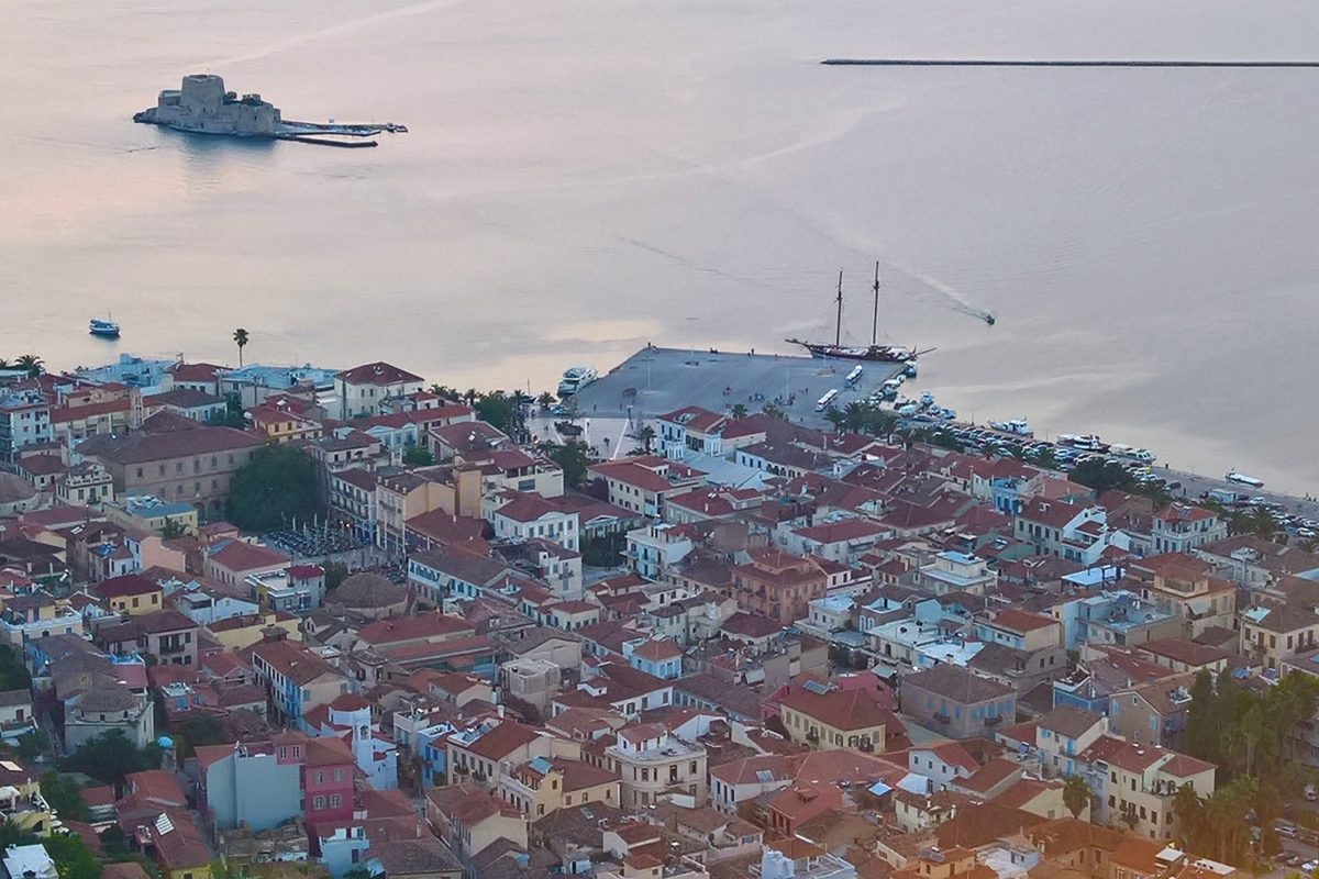 nafplio city greece