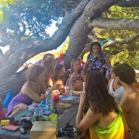 sykia kids beach peloponnese family pic nic