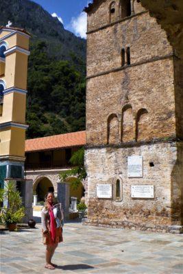 taxiarhes monastery aigio peloponnese