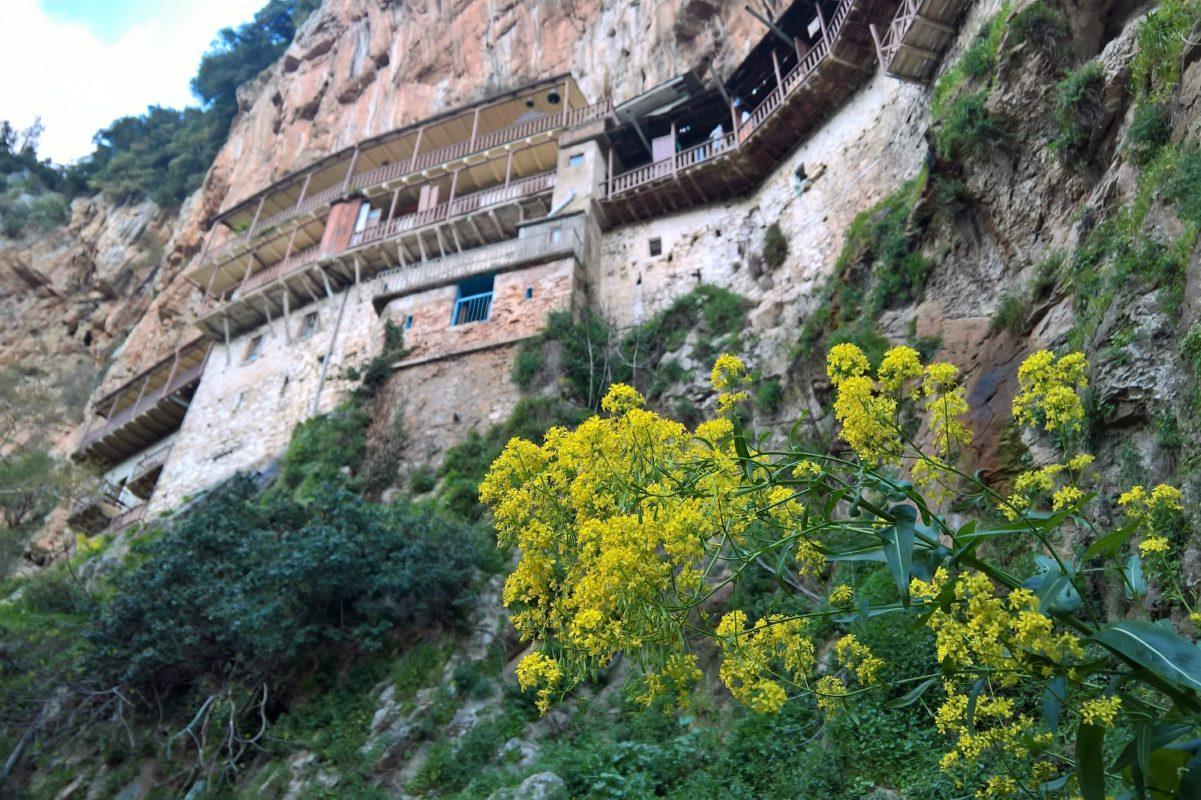 prodromos monastery menalon peloponnese
