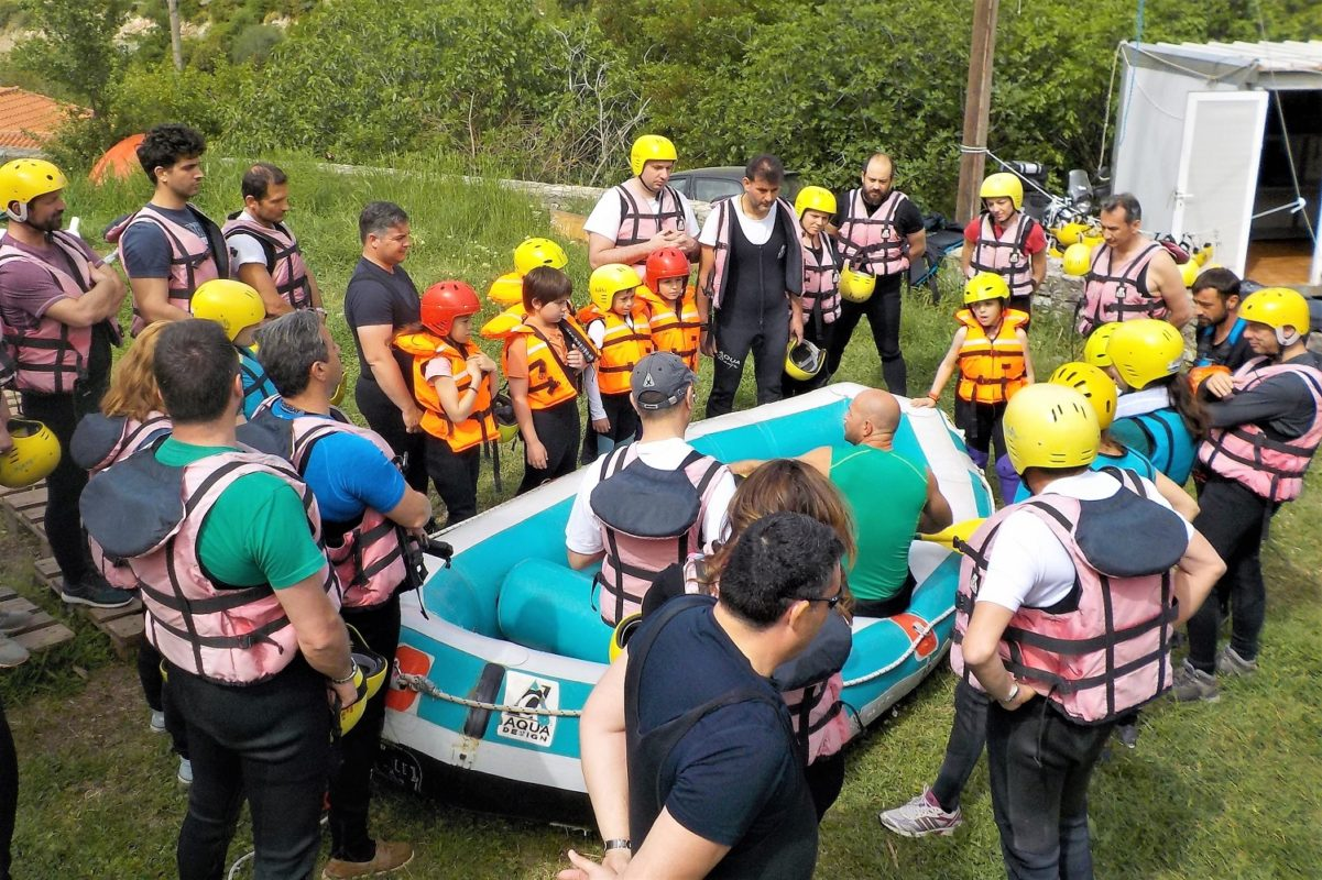 peloponnese rafting family kids