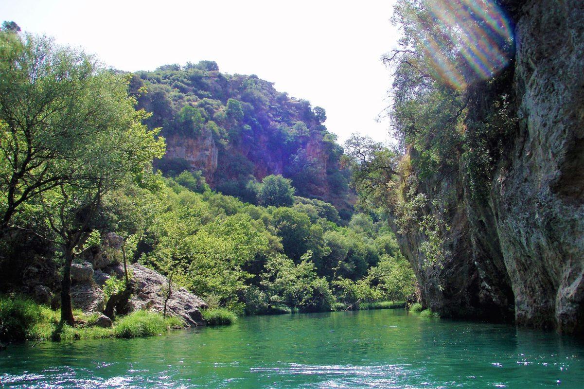 rafting lousios peloponnese