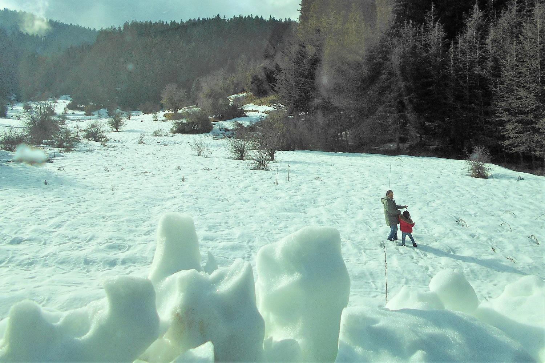 snow menalon peloponnese family