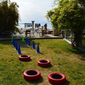 glyfada playground beach sea kids