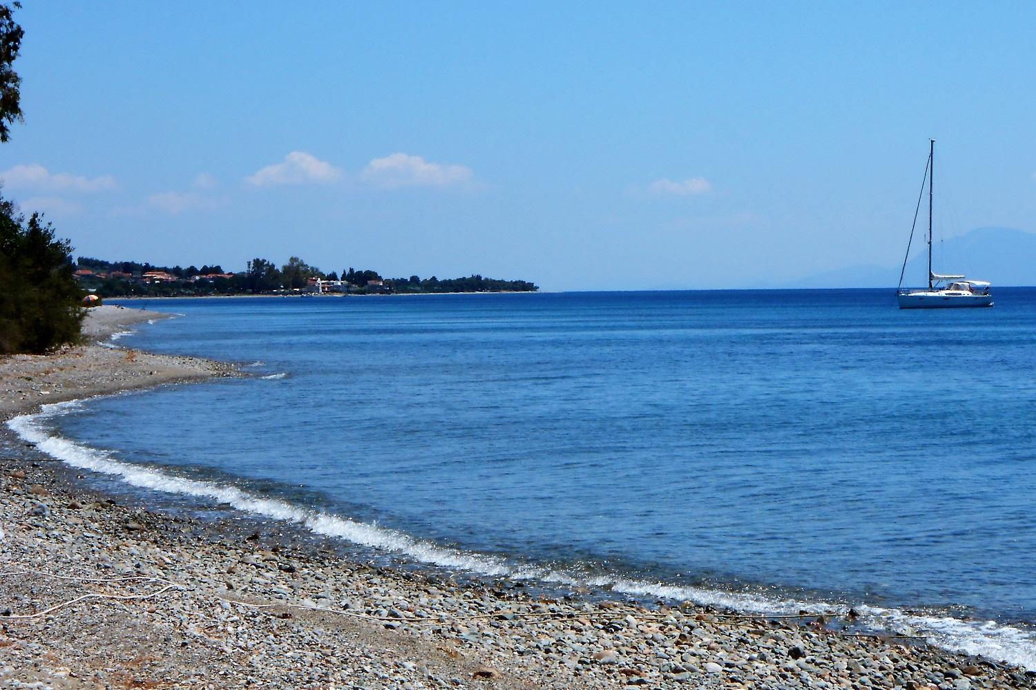northern evia beach