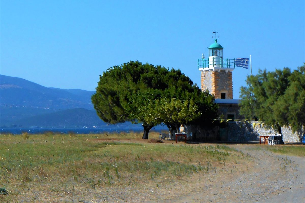 lighthouse evia lihada