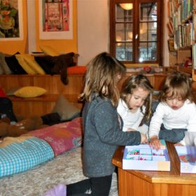 library baby kids athens greece