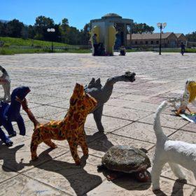 national gallery kids workshop sculptures