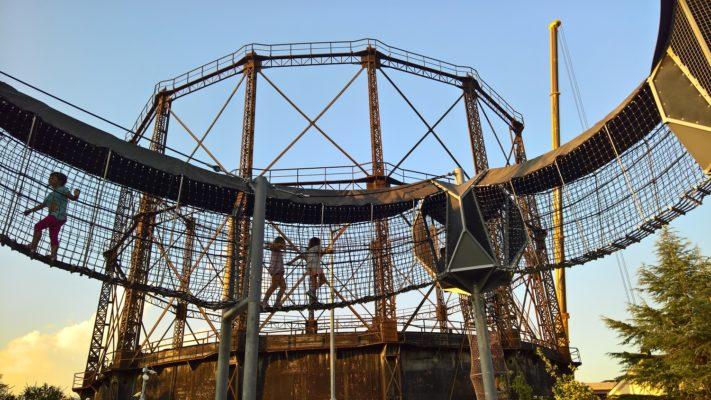 kids skywalk gazi athens open playground