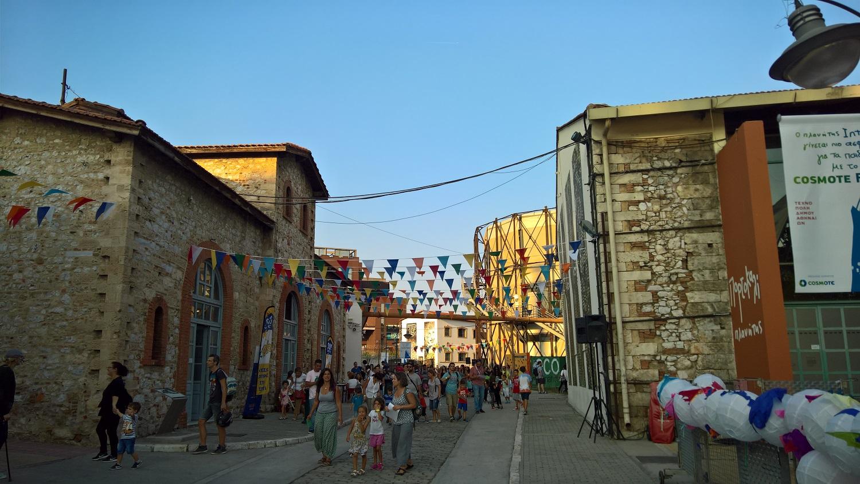 gazi technopolis athens festival