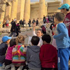 acropolis kids tour guide parthenon athens