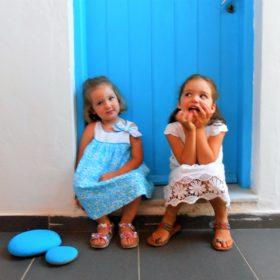 sisters Cyclades Greek islands