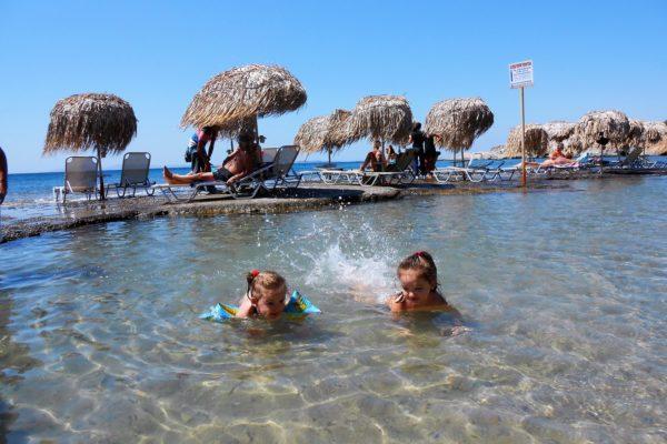 babies greece kids beach summer