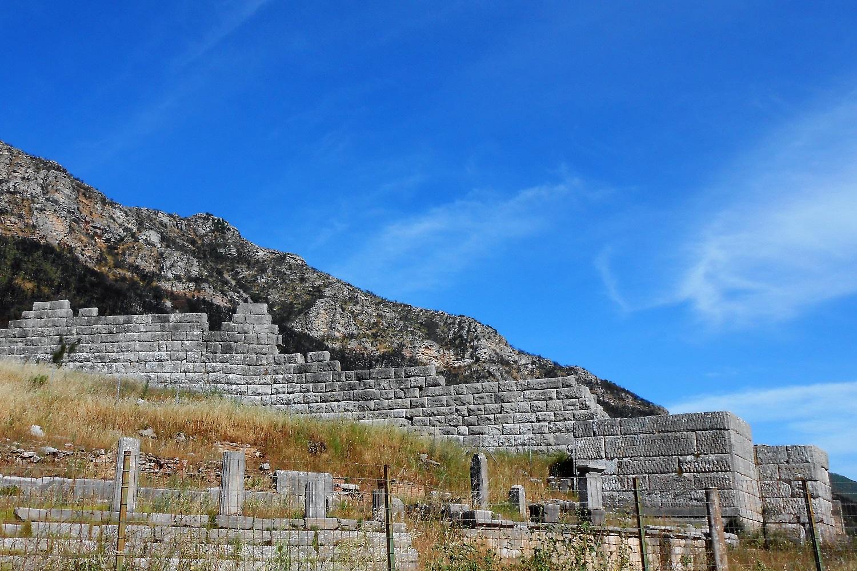 Arcadian Gate Messene Peloponnese