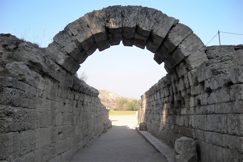 ancient olympia stadium tour