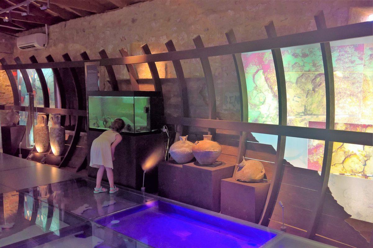 museum pylos underwater kids