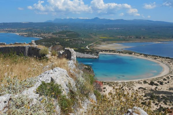 voidokilia navarino pylos greece castle