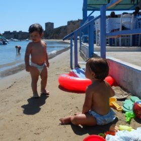 methoni beach tavern babies