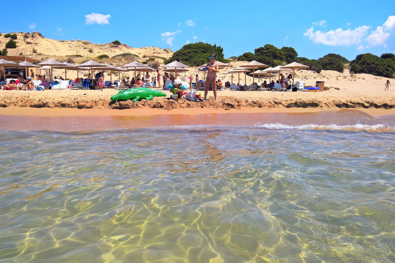 navarino petrohori beach kids