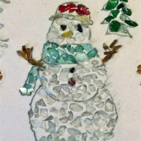 snowman art museum