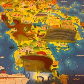 peloponnese kids map greece