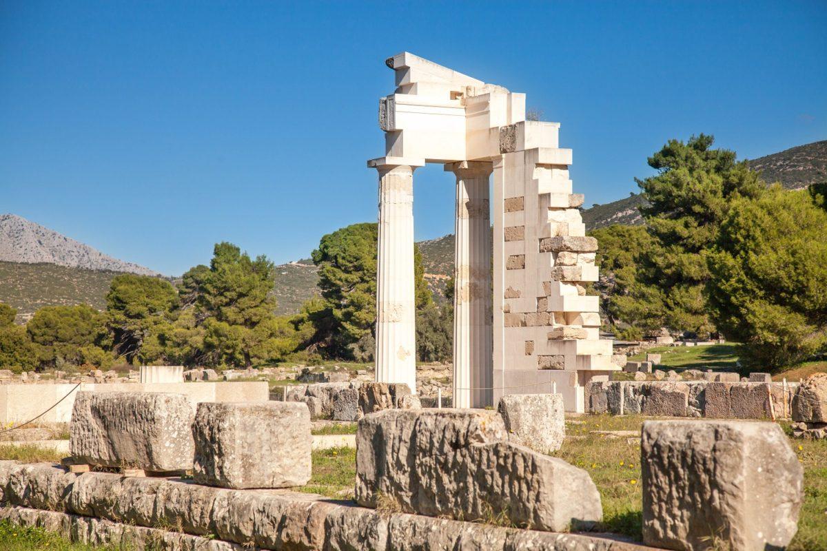 Epidaurus peloponnese ancient site
