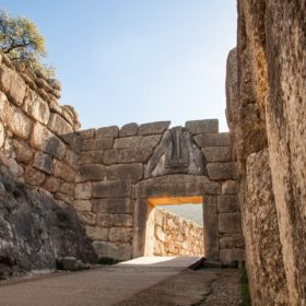 mycenae archaeological site peloponnese