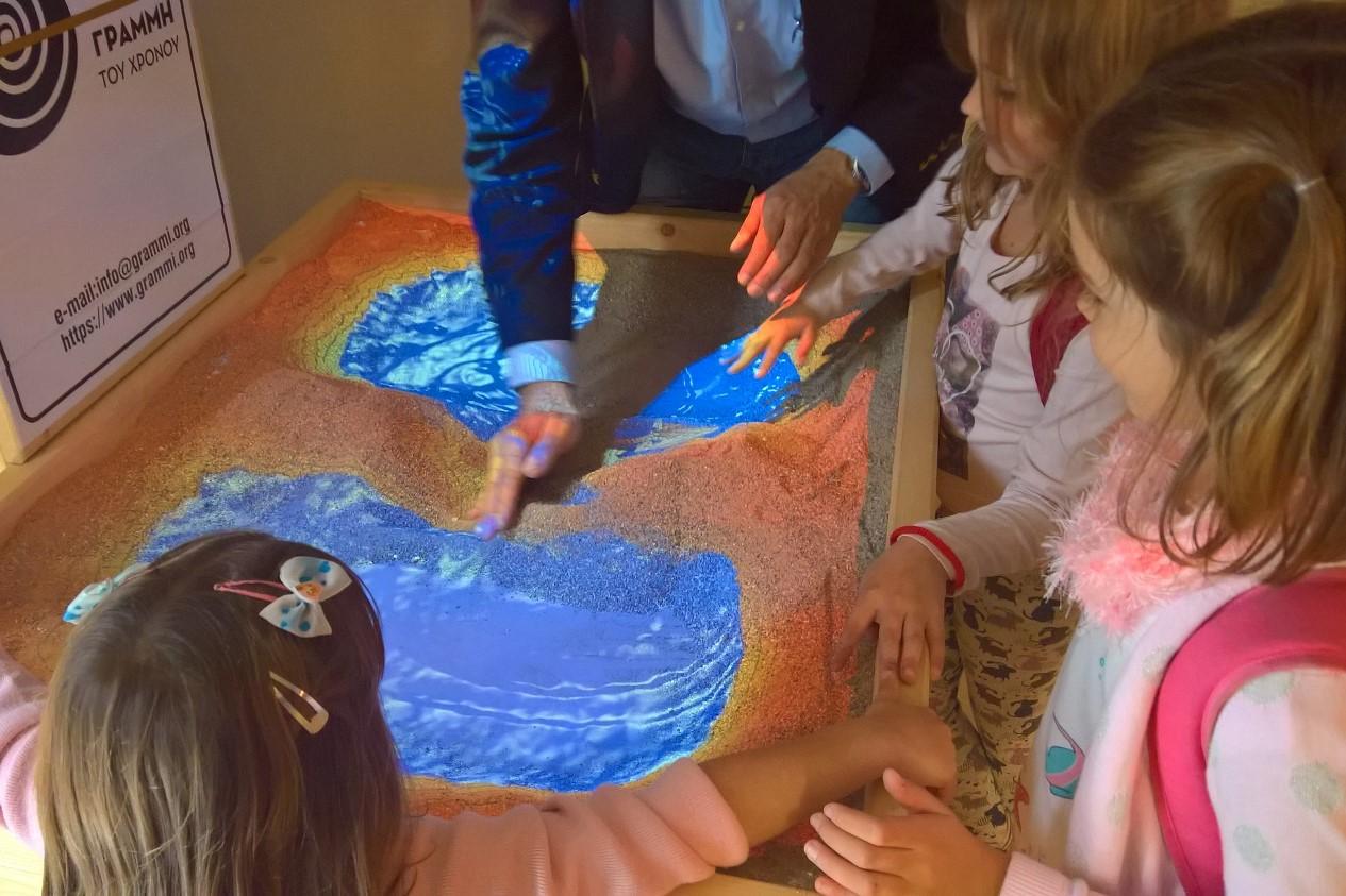 corinth canal museum kids sandbox
