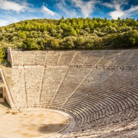 epidaurus ancient theater peloponnese