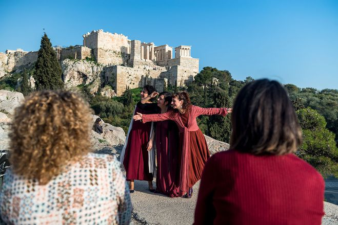 Mythology Storytelling Walk athens