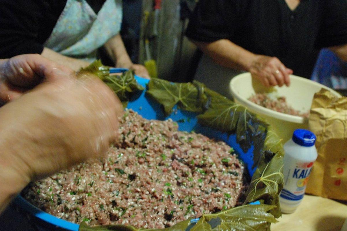 cooking class delphi dolmades greek
