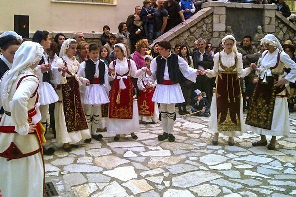 arachova greek folk traditions